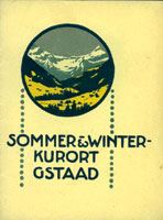 Arnold Brügger - Sommer Winter Gstaad